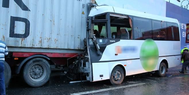 Korkunç kaza: 10 yaralı