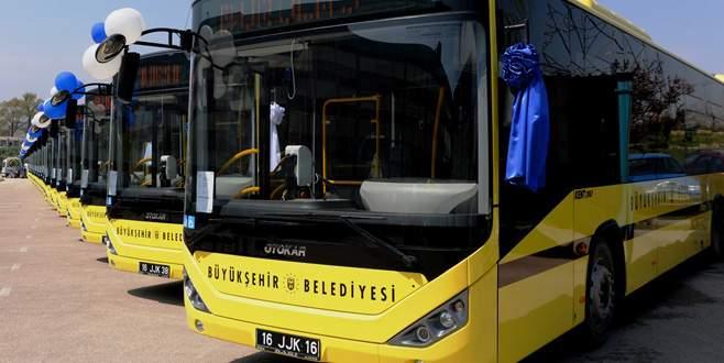 Büyükşehir, Karacabey'e otobüs seferleri başlattı