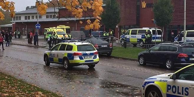 İsveç'te okula düzenlenen saldırıda hedef göçmenlermiş