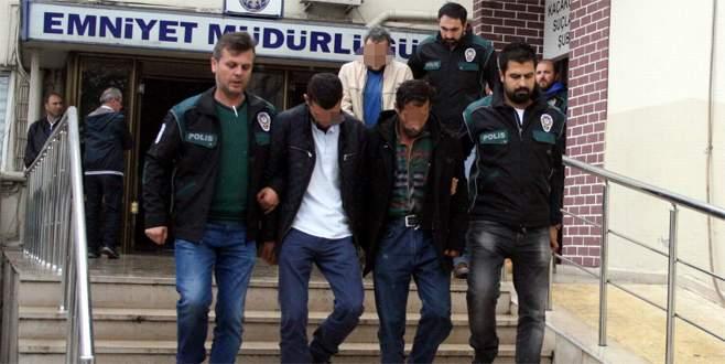 Bursa polisinden zehir tacirlerine şafak baskını