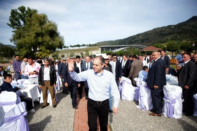 Bakan Akif Çağatay Kılıç Ayvacık'ta