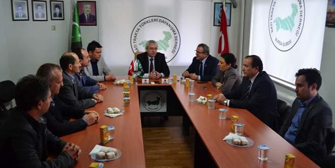 CHP'den Batı Trakya Türkleri'ne ziyaret