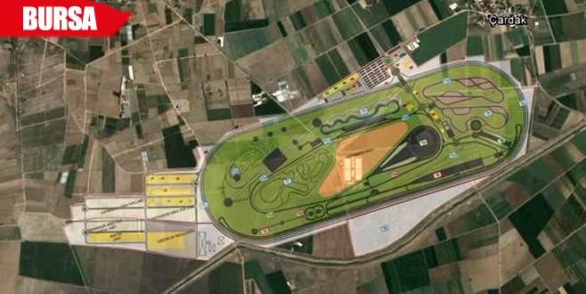 Otomotiv test merkezinin master planları tamamlandı