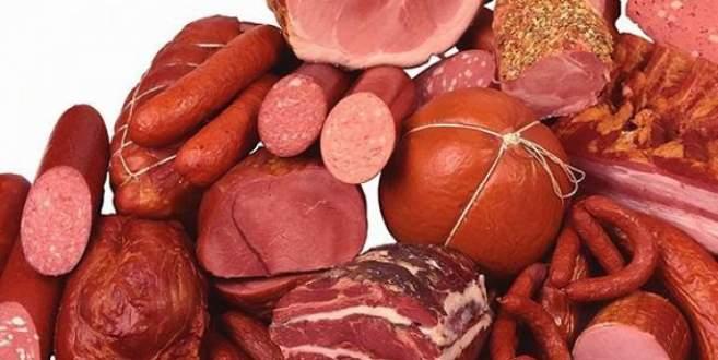 İşlenmiş et kanser riskini artırıyor