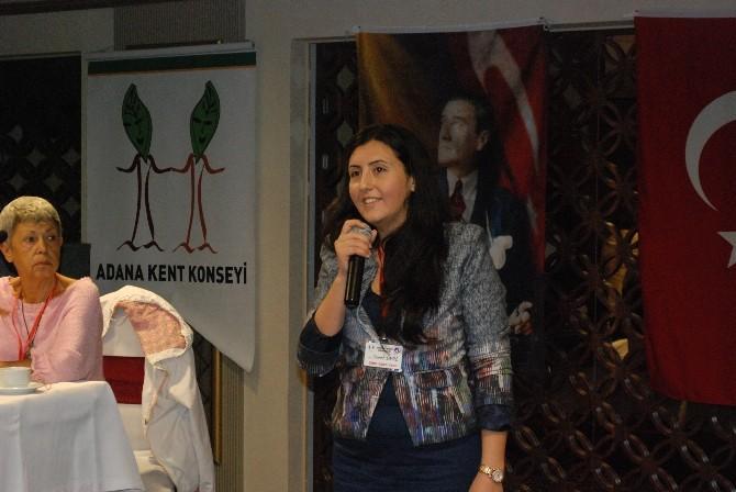 Adana Kent Konseyi Kadın Meclisi Başkanı Cennet Ünal Oldu