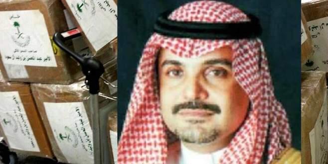 Suudi Prens'e uyuşturucu baskını