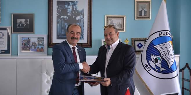 Türkyılmaz Dünya Barış Organizasyonu temsilcisi