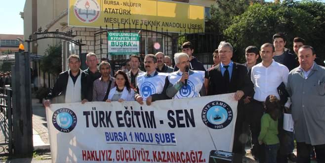 Atatürk Meslek Lisesi'nde bölüm kapatılmasına tepki