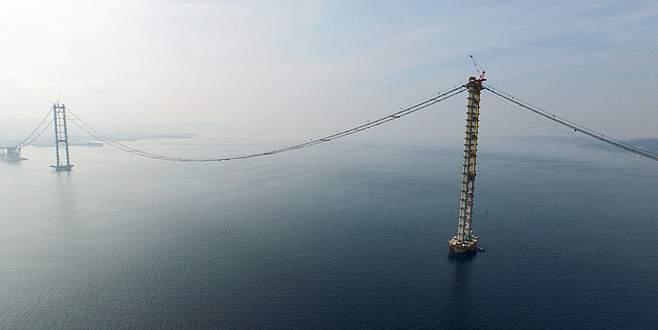 İzmit Körfez Geçiş Köprüsü'nün açılışına 5 ay kaldı