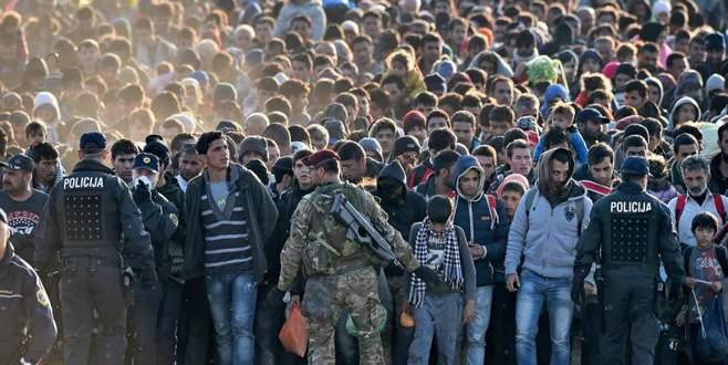 Sığınma kampları doldu