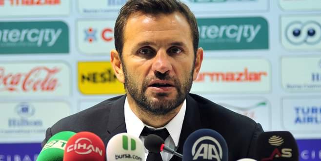 Okan Buruk, Bursaspor maçını değerlendirdi