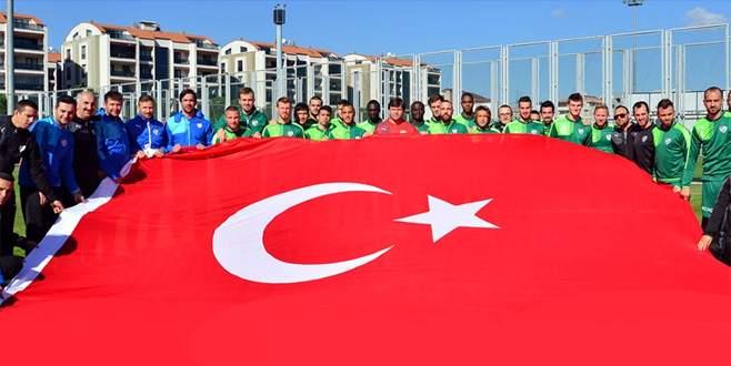 Bursaspor'da Cumhuriyet coşkusu