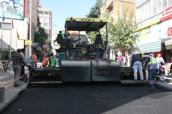 Kilis'te Asfalt Çalışmaları Sürüyor