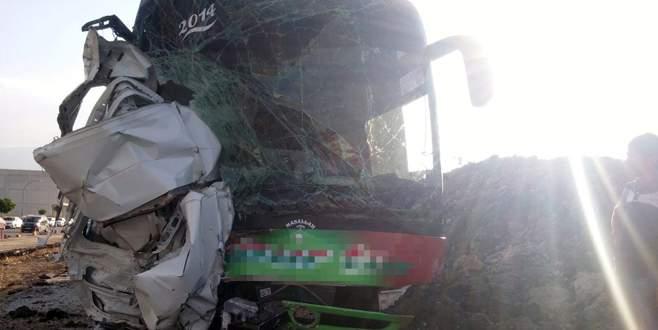 Freni patlayan otobüs dehşet saçtı: 2'si ağır 5 yaralı