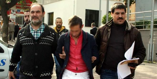 Makaslı kapkaççı tutuklandı