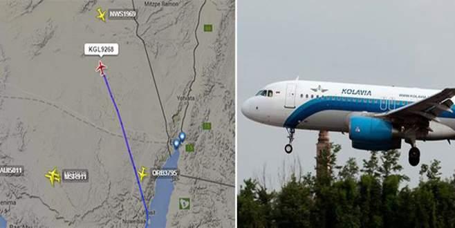 Mısır'dan Rusya'ya giden yolcu uçağı düştü