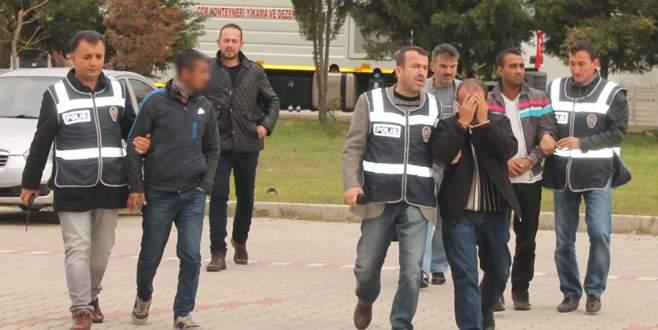 Bandırma'da hırsızlık yaptılar Bursa'da yakalandılar