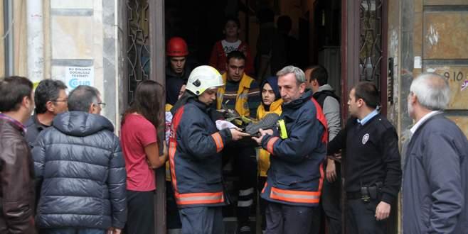 Asansör kazası: 2 kişi ölümden döndü