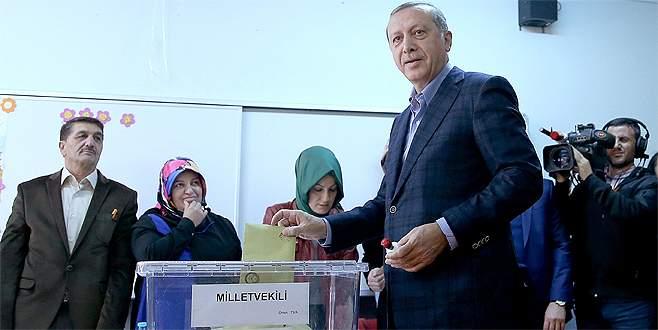 Erdoğan'ın oy kullandığı sandıktan hangi parti birinci çıktı?
