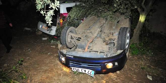 Bursa'da korkunç kaza: 2 ölü, 4 yaralı
