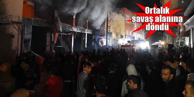 Nusaybin'de markette patlama: 13 yaralı