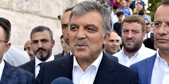 Abdullah Gül'den AK Parti'ye başarı tebriği