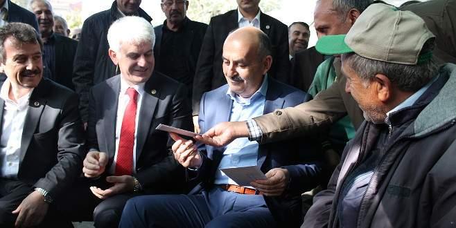 Müezzinoğlu'ndan Yenişehir'e hastane müjdesi
