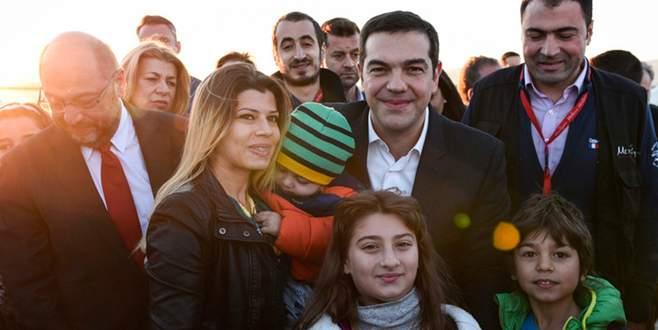 Sığınmacılar bu kez 'mutlu'