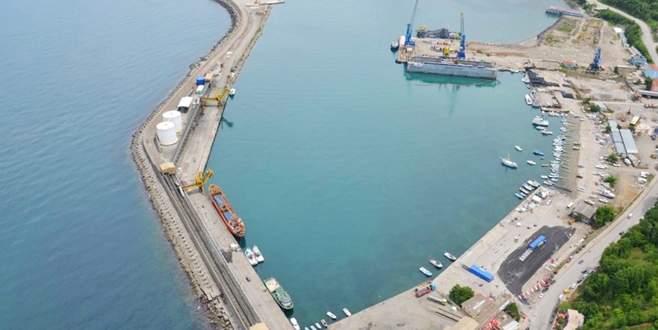 İnebolu Limanı'nda son teklif 27 Kasım'da