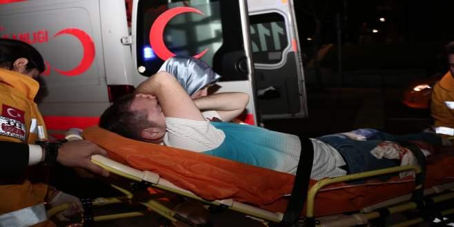 Taksim'de Rus taraftar bıçaklandı