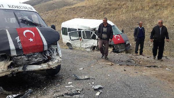 Kayseri'de zincirleme kaza: 2'si ağır 5 yaralı
