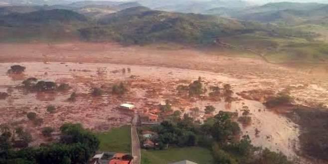Brezilya'da baraj çöktü! Çok sayıda ölü olabilir