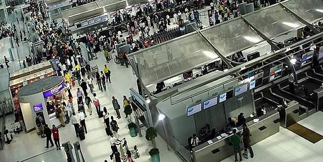 Havayolu yolcu sayısı arttı