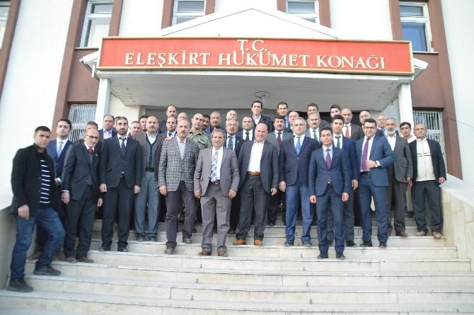 Kaymakam Topsakaloğlu Eleşkirt'ten Ayrıldı