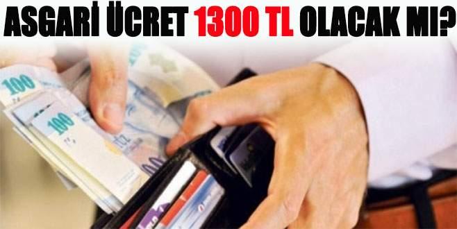 Asgari ücret nasıl 1300 TL olabilir?