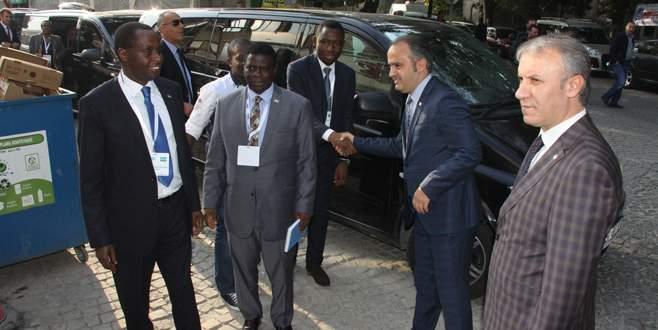 Afrikalı büyükelçiler İnegöl'e hayran kaldı