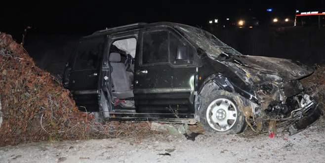 Cenaze dönüşü kaza: 4 ölü, 2 yaralı