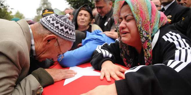 Şırnak'ta şehit olan asker son yolculuğuna uğurlandı