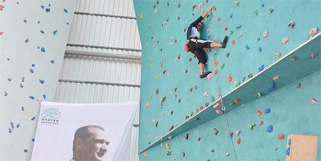 Bursa'da tırmanma şenliği