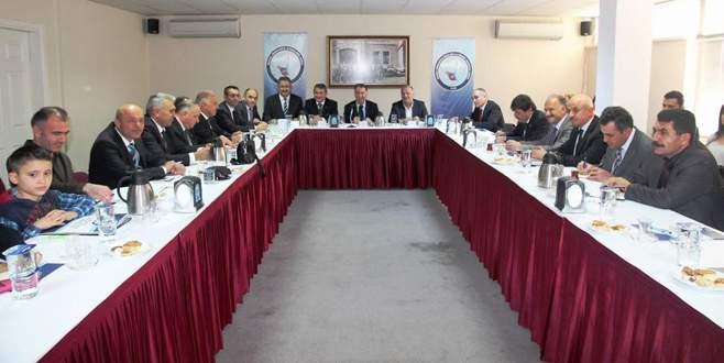 İl milli eğitim danışma komisyonu toplandı