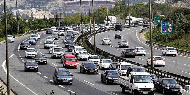 Trafikteki araç sayısı 20 milyona dayandı