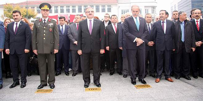 Bursa'da 10 Kasım törenleri
