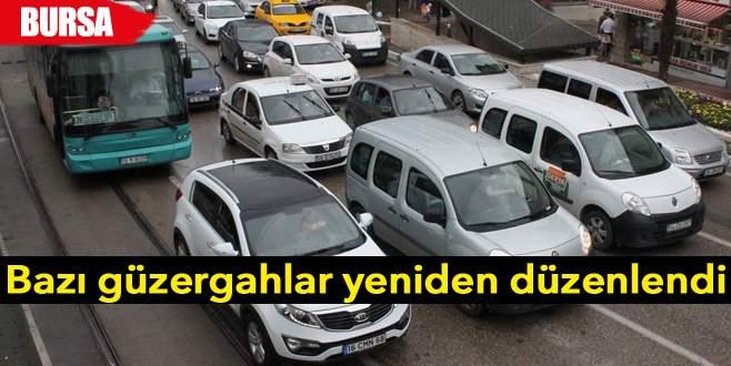 Bazı güzergahlarda trafik yeniden düzenlendi