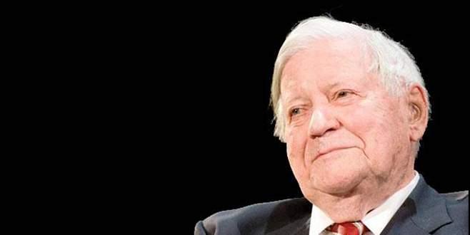 Almanya yasta! Eski Başbakan Helmut Schmidt öldü!