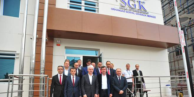 Orhangazi SGM yeni hizmet binasında