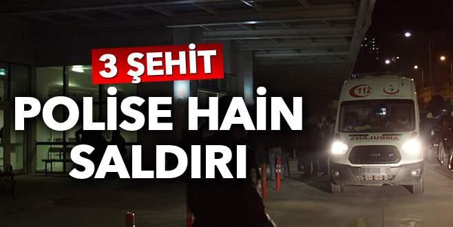 Şırnak'ta polise hain saldırı: 3 şehit