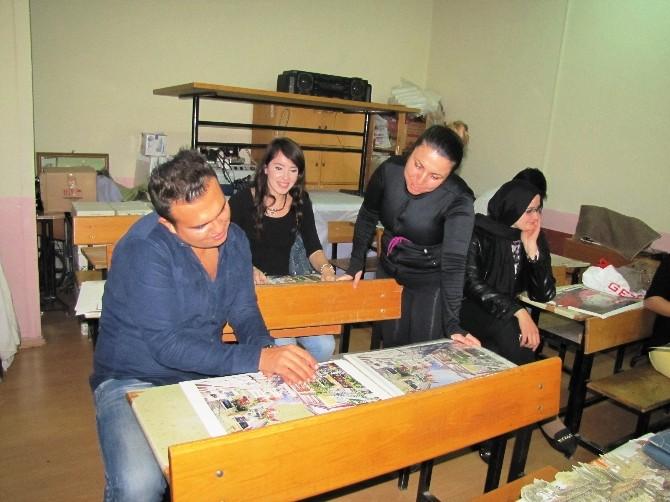 Hisarcık'ta 3 Boyutlu Şekillendirme Kursu Açıldı
