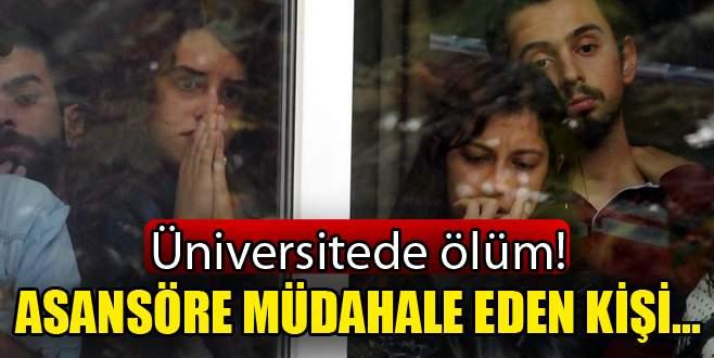 Üniversitede ölüm!