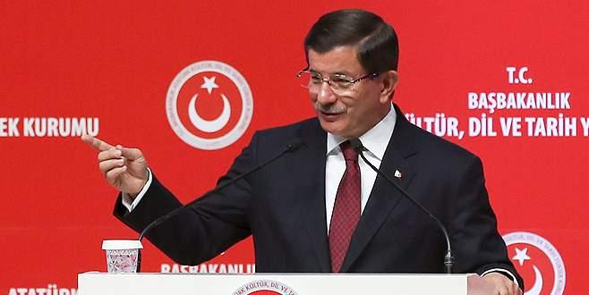 Başbakan Davutoğlu, artan oylar için teşekküre geliyor!