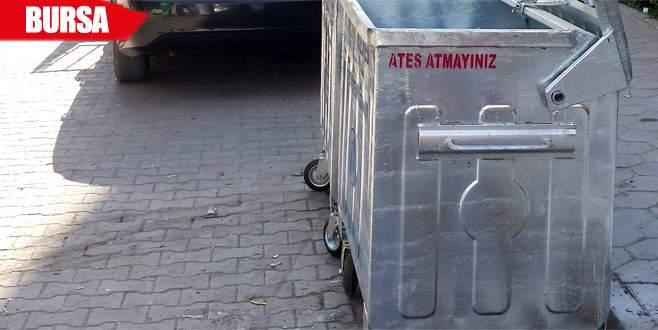 Zamansız çöp çıkaranlara kameralı takip